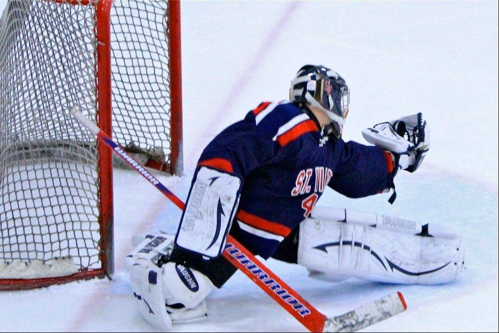 Barrington resident and St. Viator standout Rob Schmidt is developing an impressive goaltending resume.