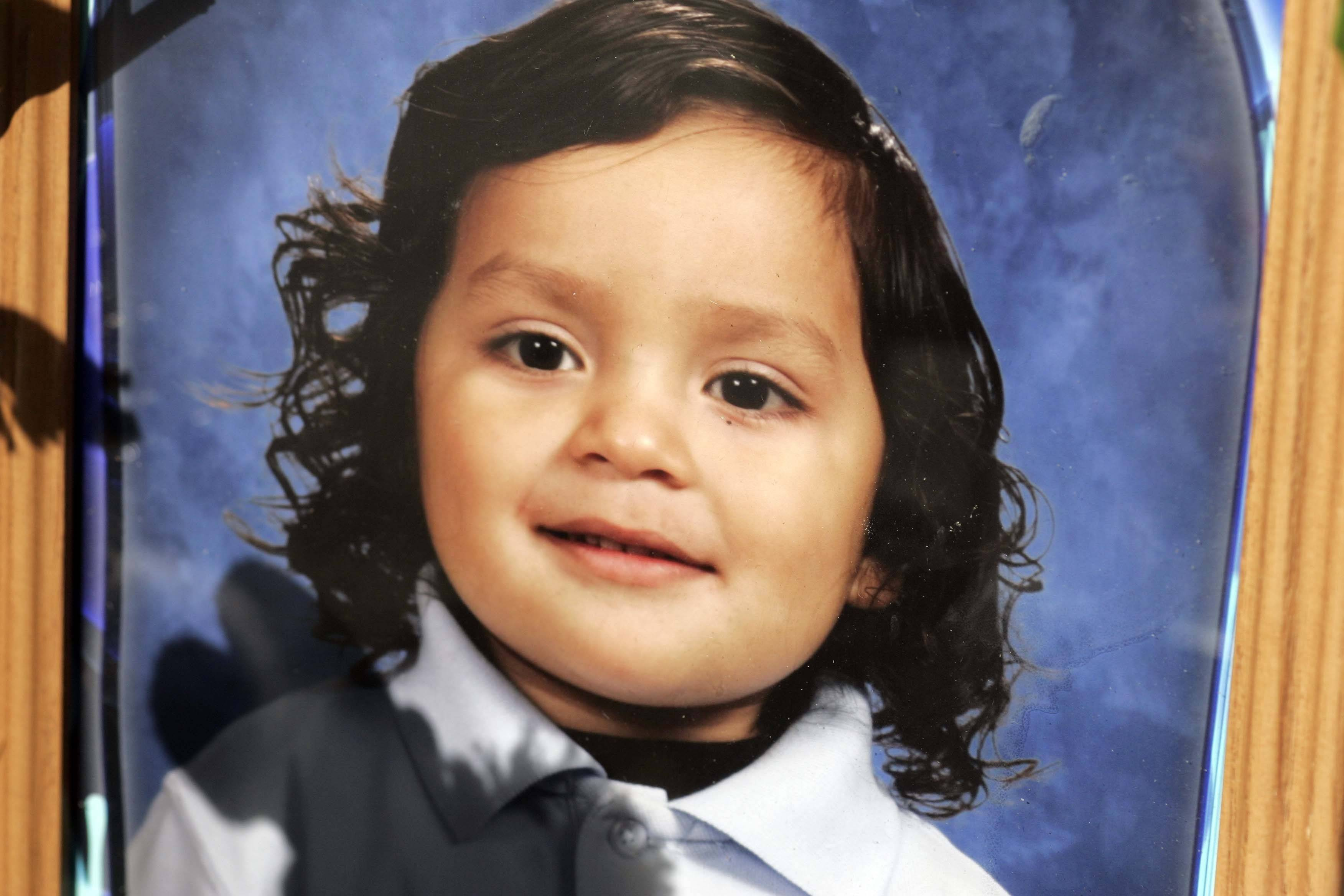Eric M. Galarza Jr., 5, was the victim of what police called a gang-related shooting on Friday night.