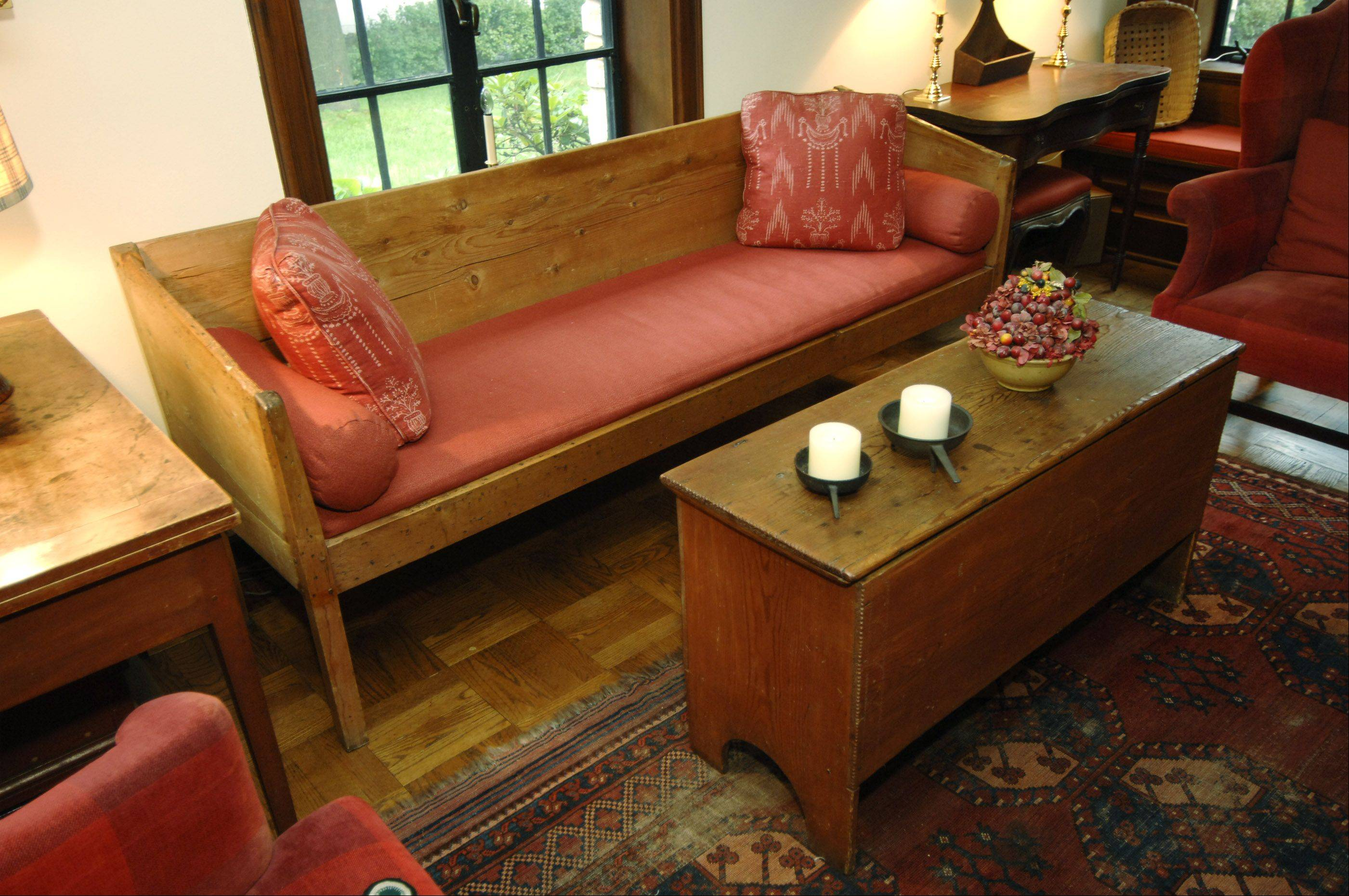 The American Chippendale Sofa Was Probably Upholstered At One Point, But  Rosemary Winters Left It
