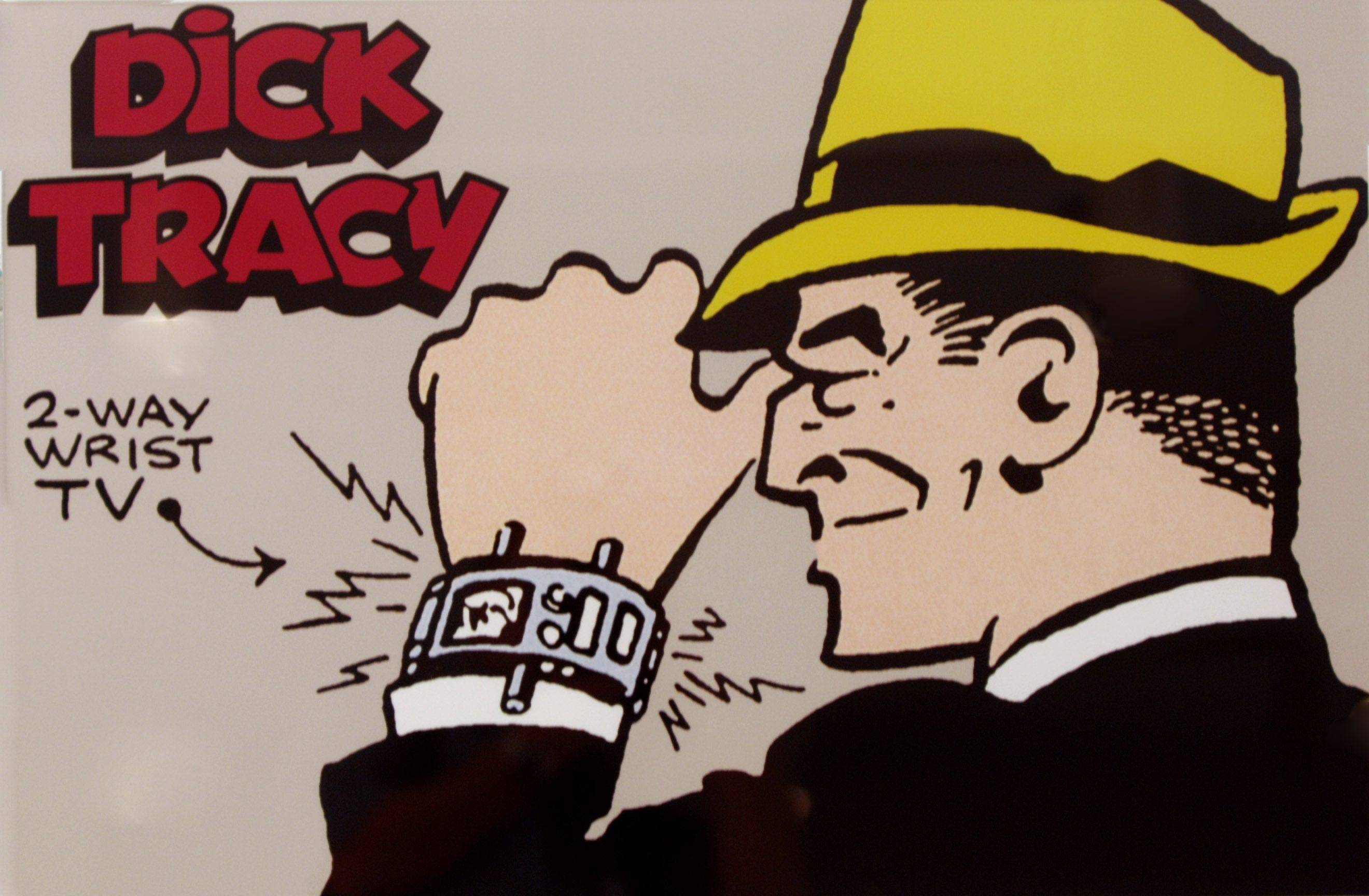 Artwork was on display during the Naper Settlement's celebration the 80th birthday of the cartoon character Dick Tracy. The event included a presentation by Dick Locher, the Naperville man who drew the cartoon strip for many years.
