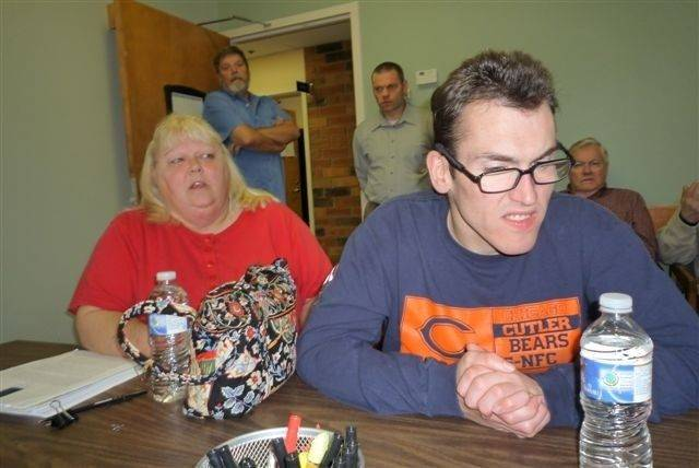Attempts to move Justin Benson, right, into smaller group homes have failed, says his mother, Barb Benson. She says she worries about what will happen to her 30-year-old disabled son if the state closes the Jack Mabley Developmental Center in Dixon.