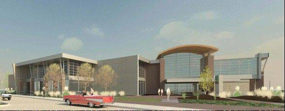 Carol Stream Park District will break ground Oct. 19 for its proposed 90,846-square-foot recreation center at Town Center.