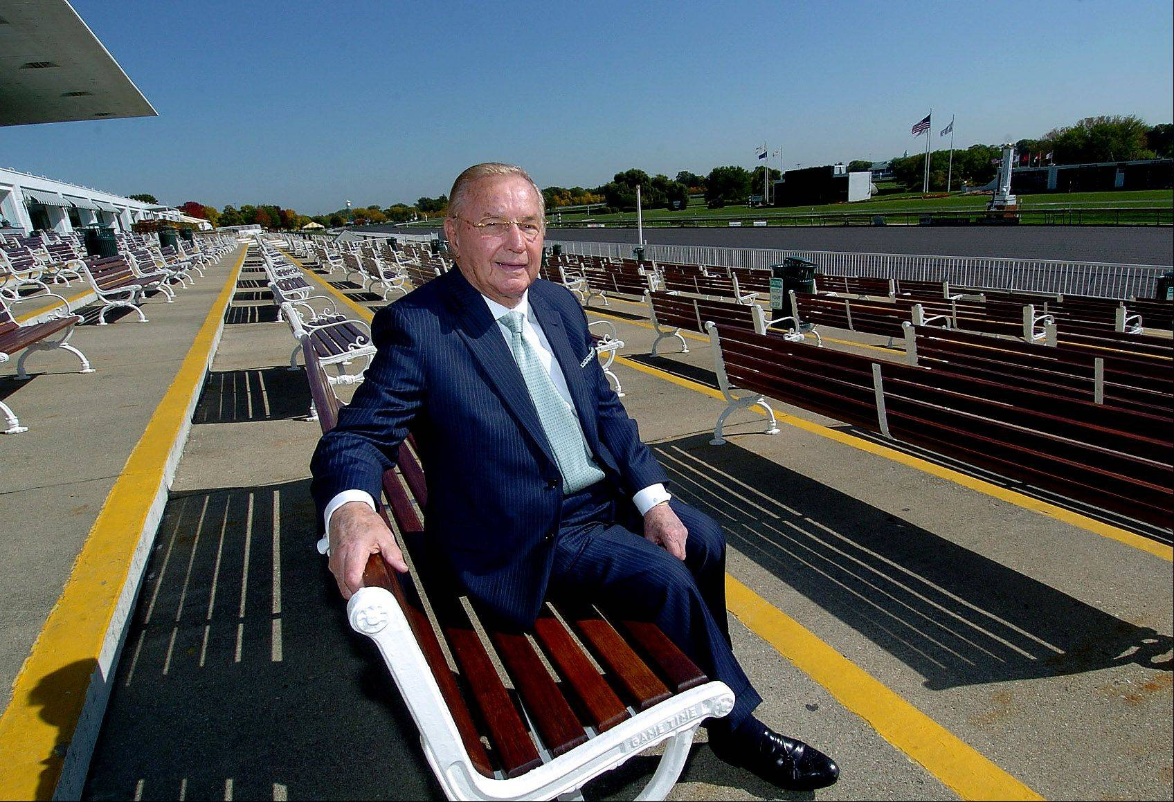 Arlington Park Chairman Richard Duchossois is still an ardent advocate for slot machines at the racetrack, but says additional gambling isn't the only solution to the horse-racing industries woes.
