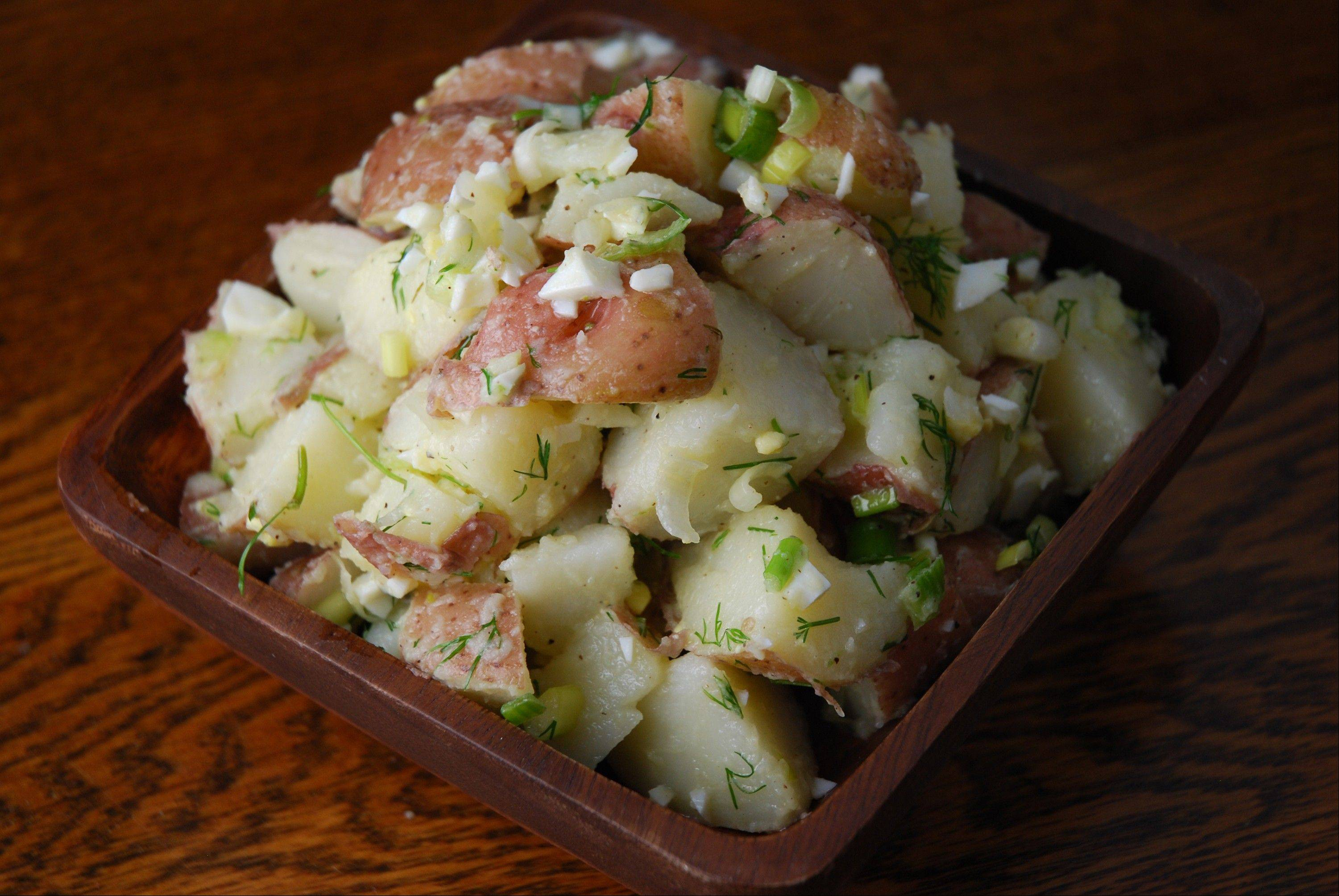 Everyday Potato Salad With Dill