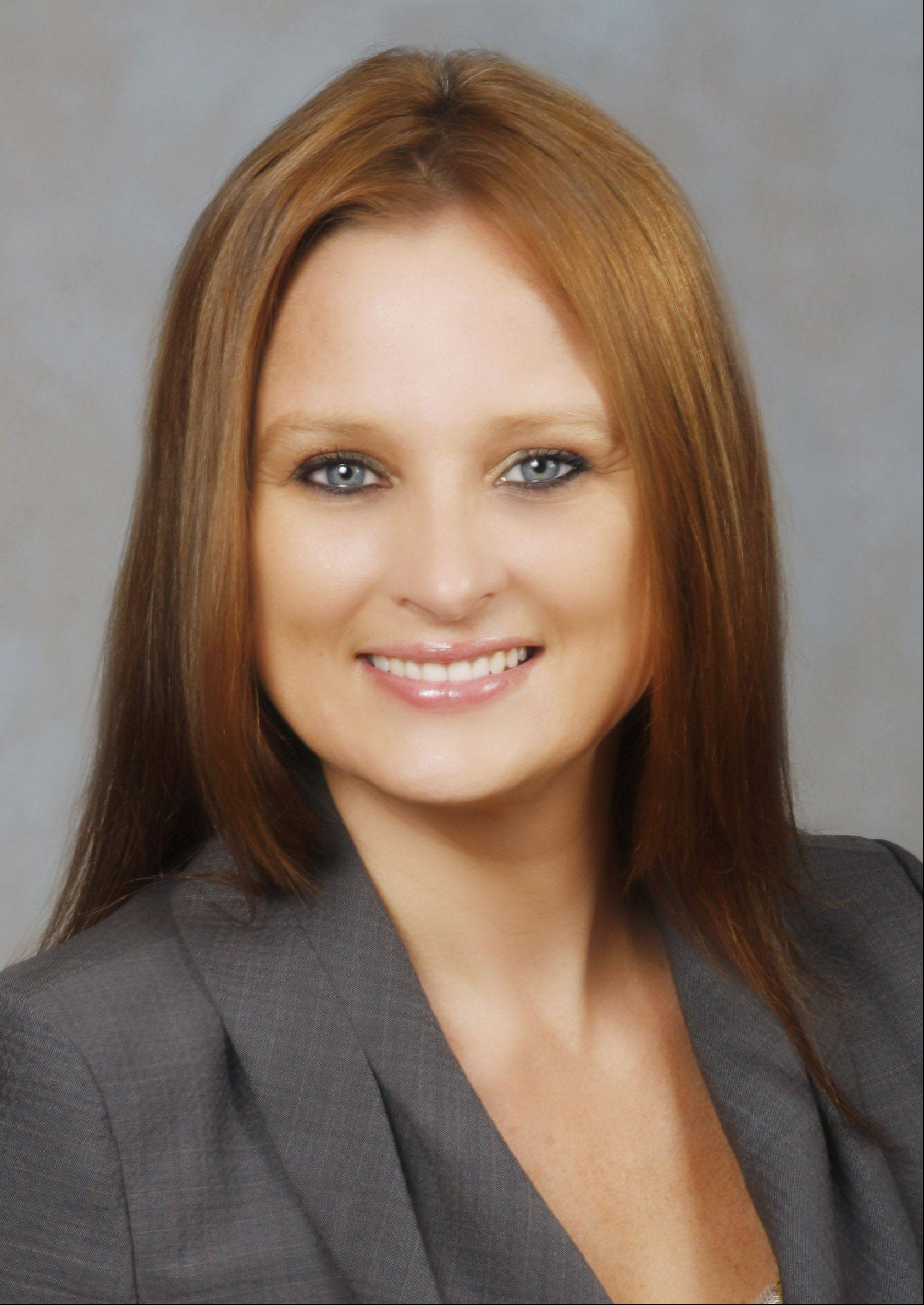 Island Lake resident Danielle Rowe is running for the state House in District 52, the post formerly held by longtime Republican lawmaker Mark Beaubien. Beaubien died earlier this year.