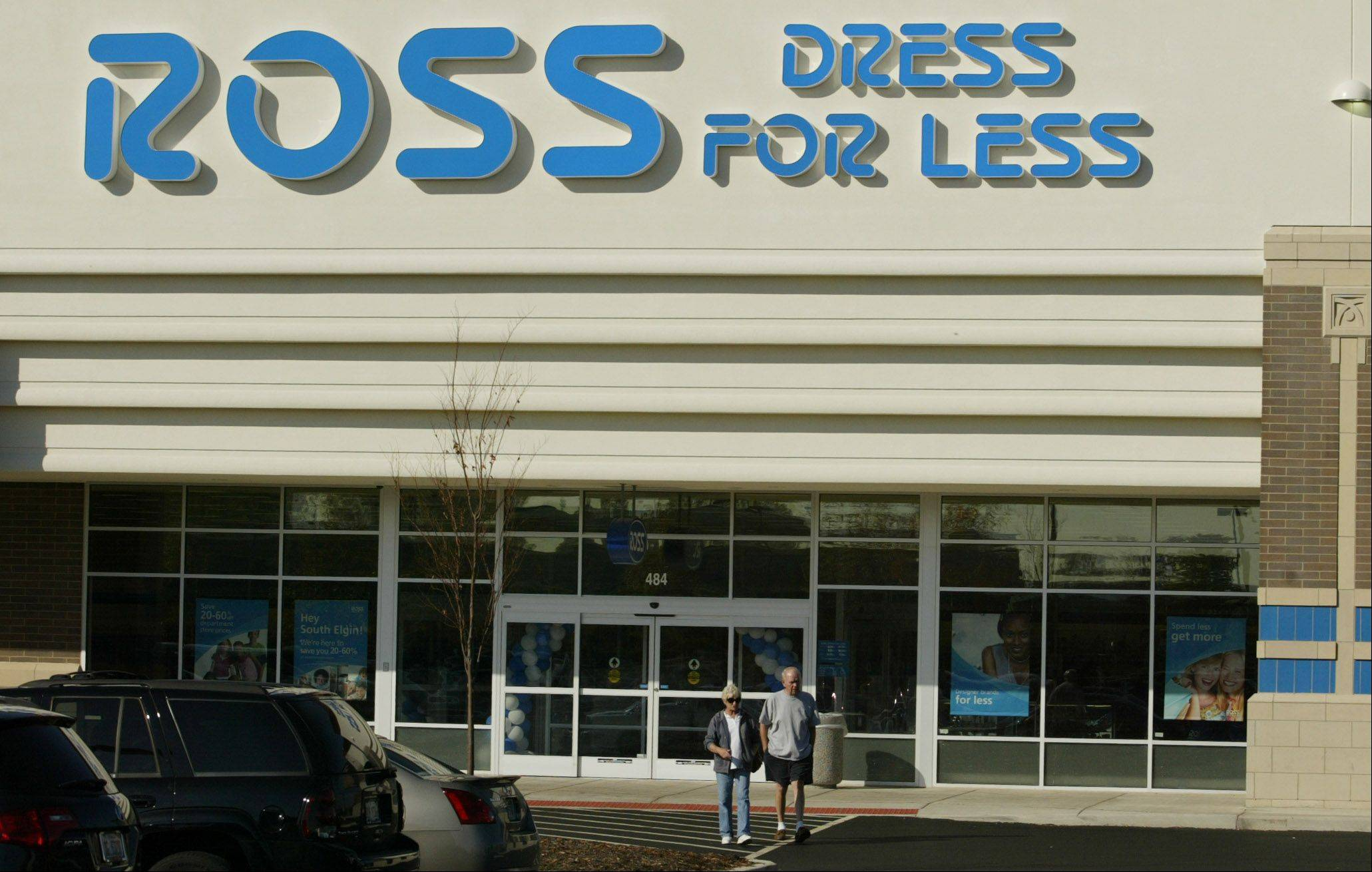 Ross Dress for Less stores are now open in the Fox Valley, including one in South Elgin on Randall Road.