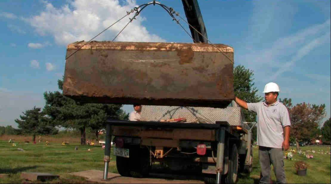 Gacy victims exhumed to ID them