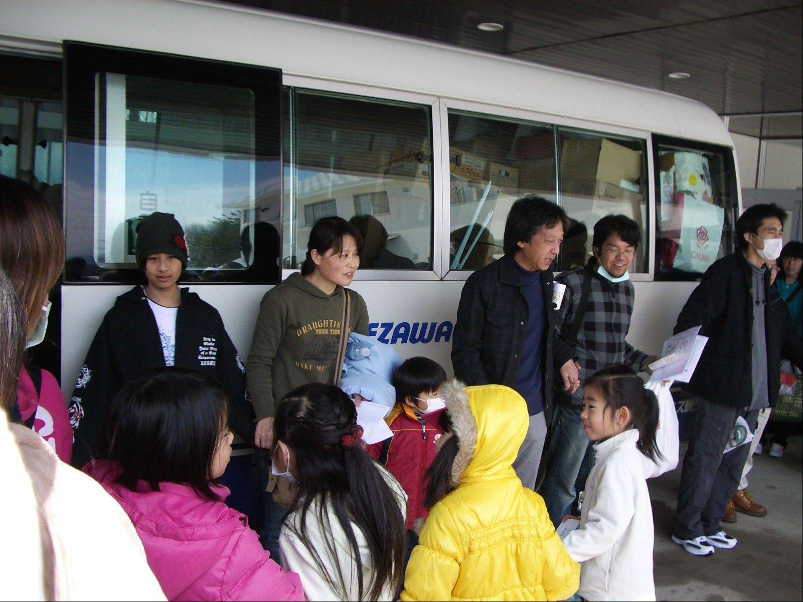 Members of the Fukushima First Bible Baptist Church in Japan evacuated after March's earthquake, tsunami and nuclear plant meltdown.