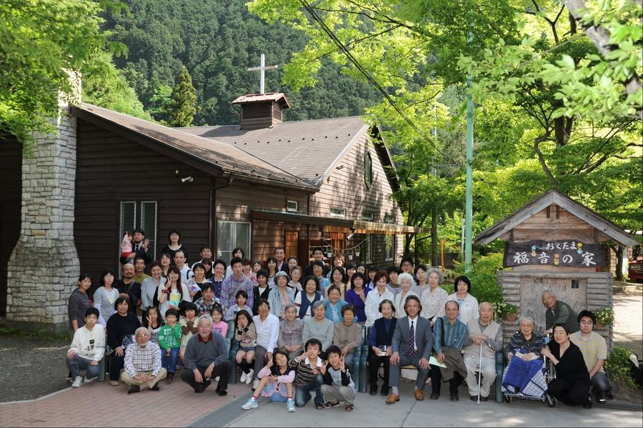 Seventy members of the 200-member church are living at a retreat near Tokyo owned by a German missionary organization.