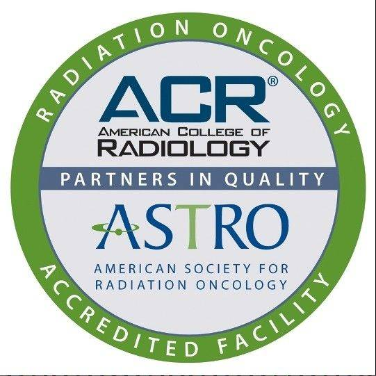 Northwest Community Hospital in Arlington Heights was awarded accreditation in radiation oncology by the American College of Radiology and the American Society for Radiation Oncology.