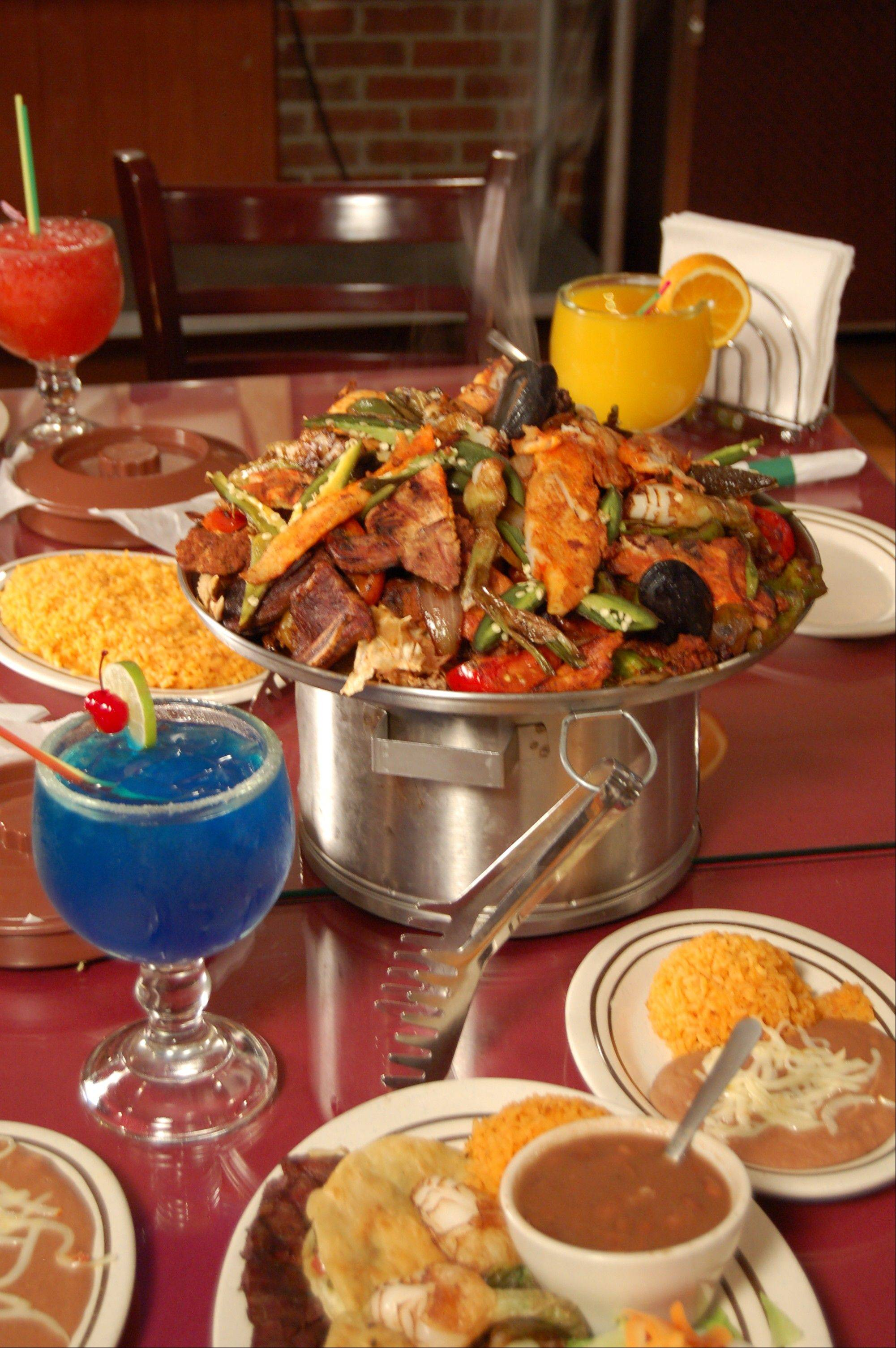"Parrillada is one of the specialties at El Coco Loco, featured on ABC 7's ""190 North."""