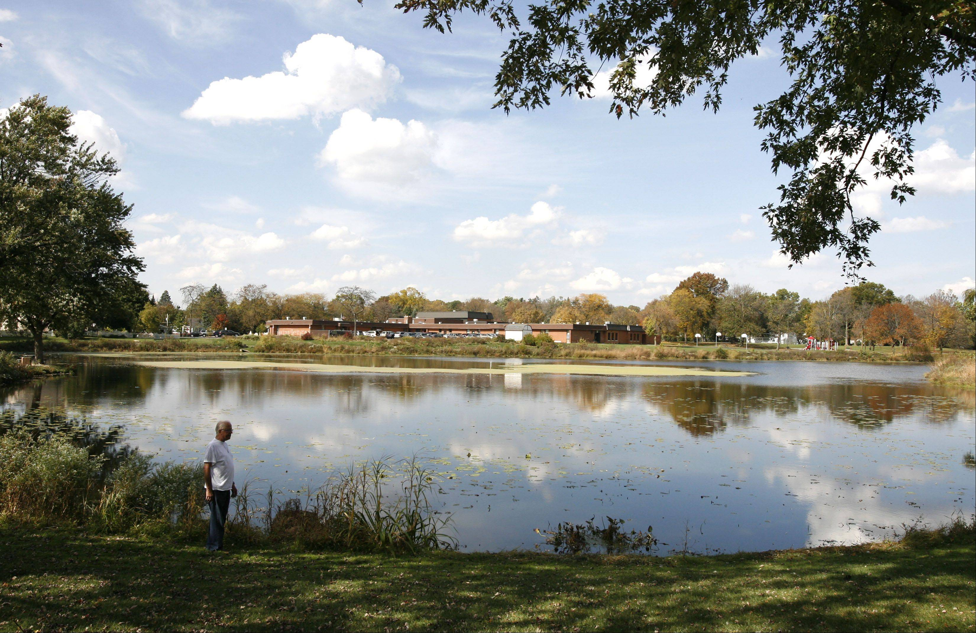 Donald Easterbrook of Lombard is concerned about environmental effects of changes being considered at Terrace View Pond in Lombard. The village and the park district are considering a study of seven options to help increase the pond's stormwater capacity.