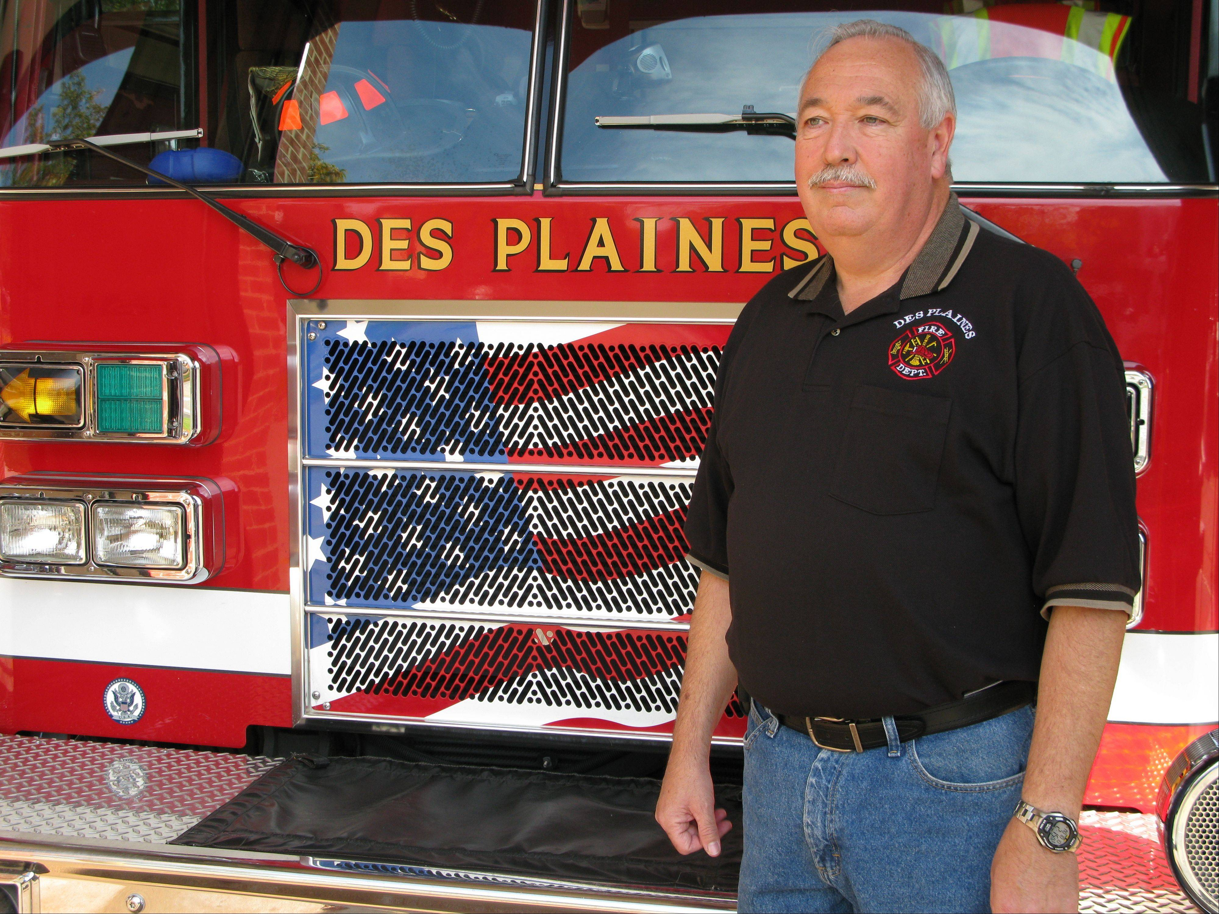 Retired Des Plaines Fire Chief Tom Farinella was among the first responders to the American Airlines Flight 191 crash on May 25, 1979.