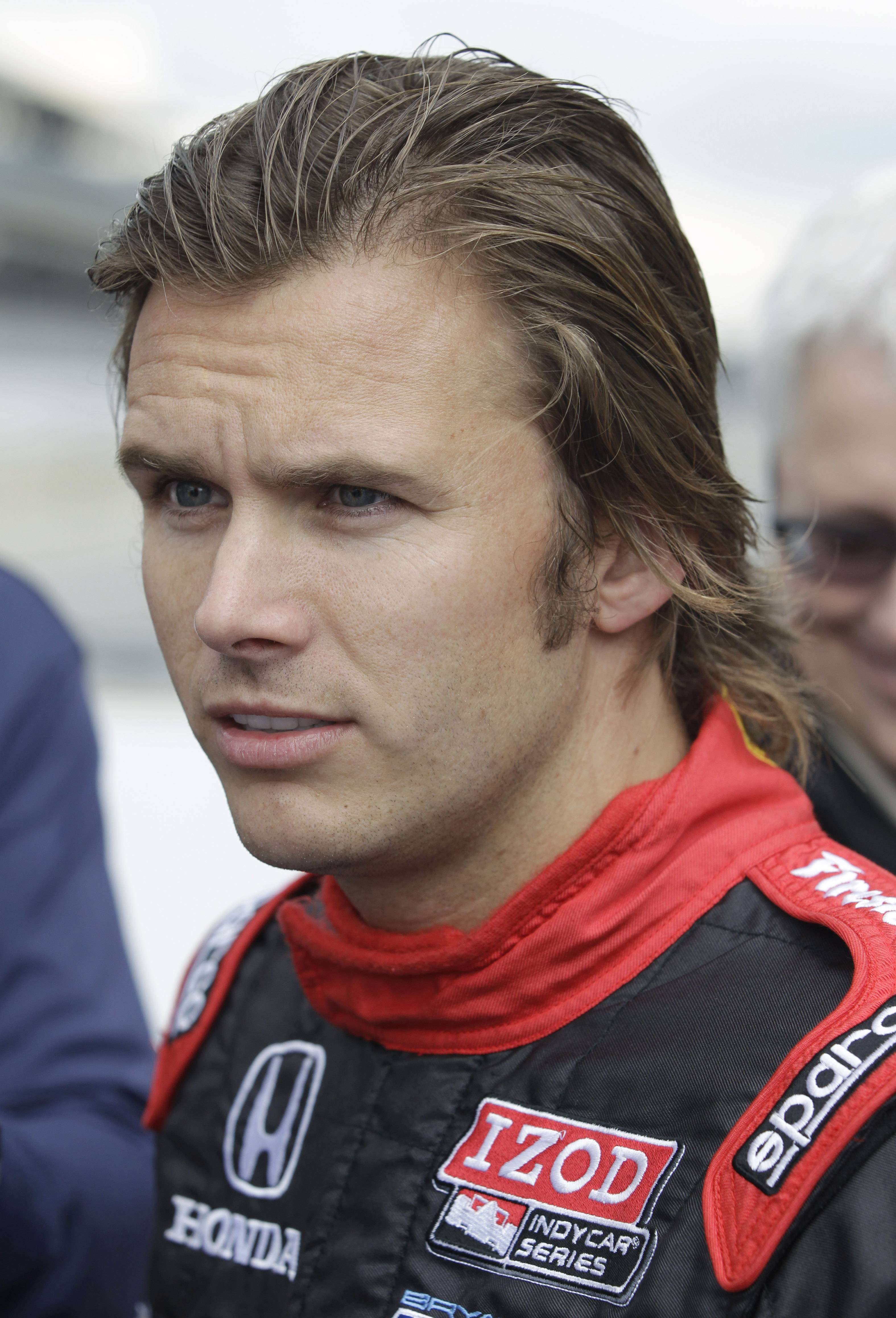 On Sept. 27, Dan Wheldon talks about the 2012 IndyCar vehicle at Indianapolis Motor Speedway. Wheldon died after a crash at the IndyCar Series race in Las Vegas.
