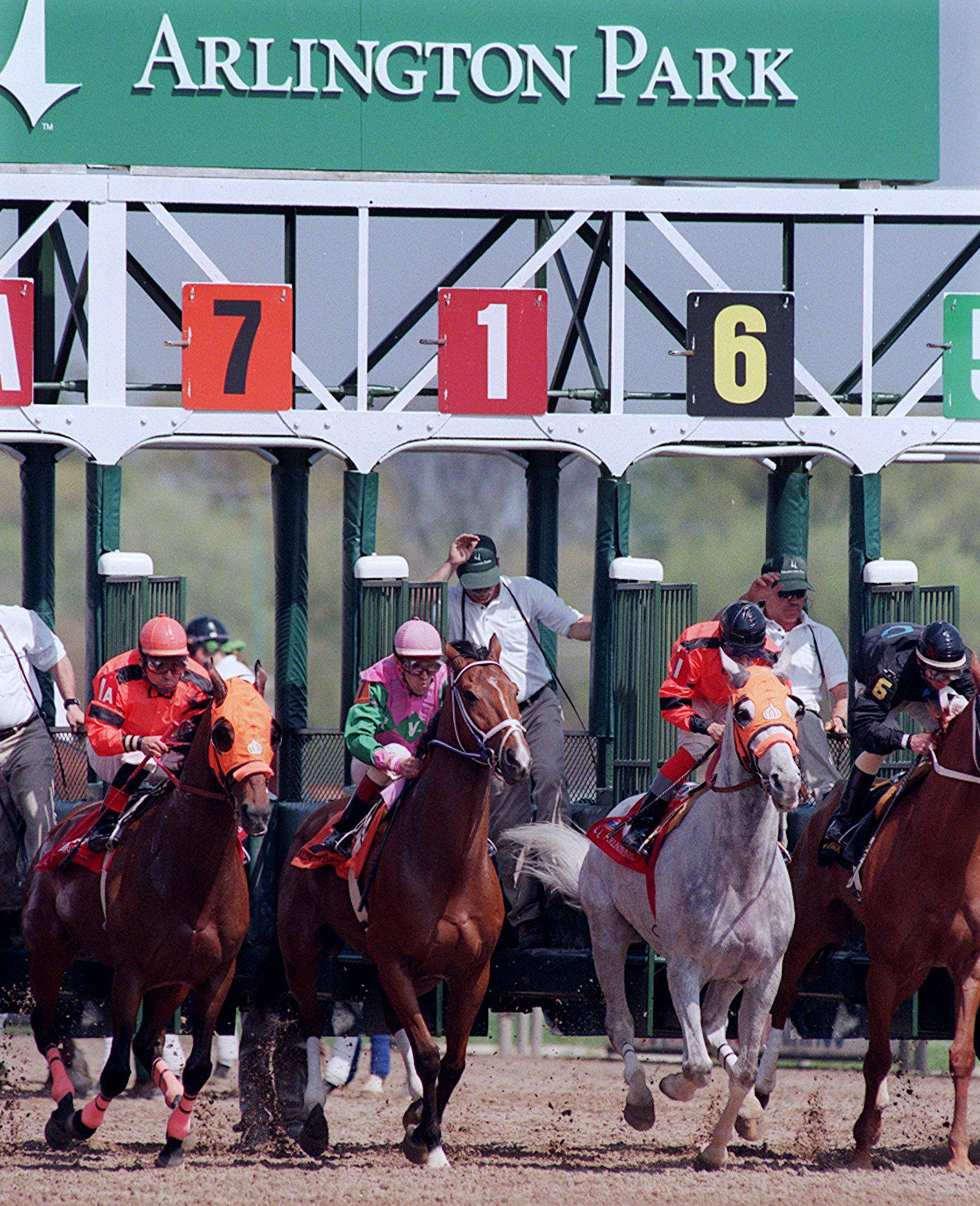 Illinois' unpaid bills include more than $203,000 owed to Arlington Park. The state owes through an incentive program for horse owners who enter Illinois born-and-raised thoroughbreds in races at the track.