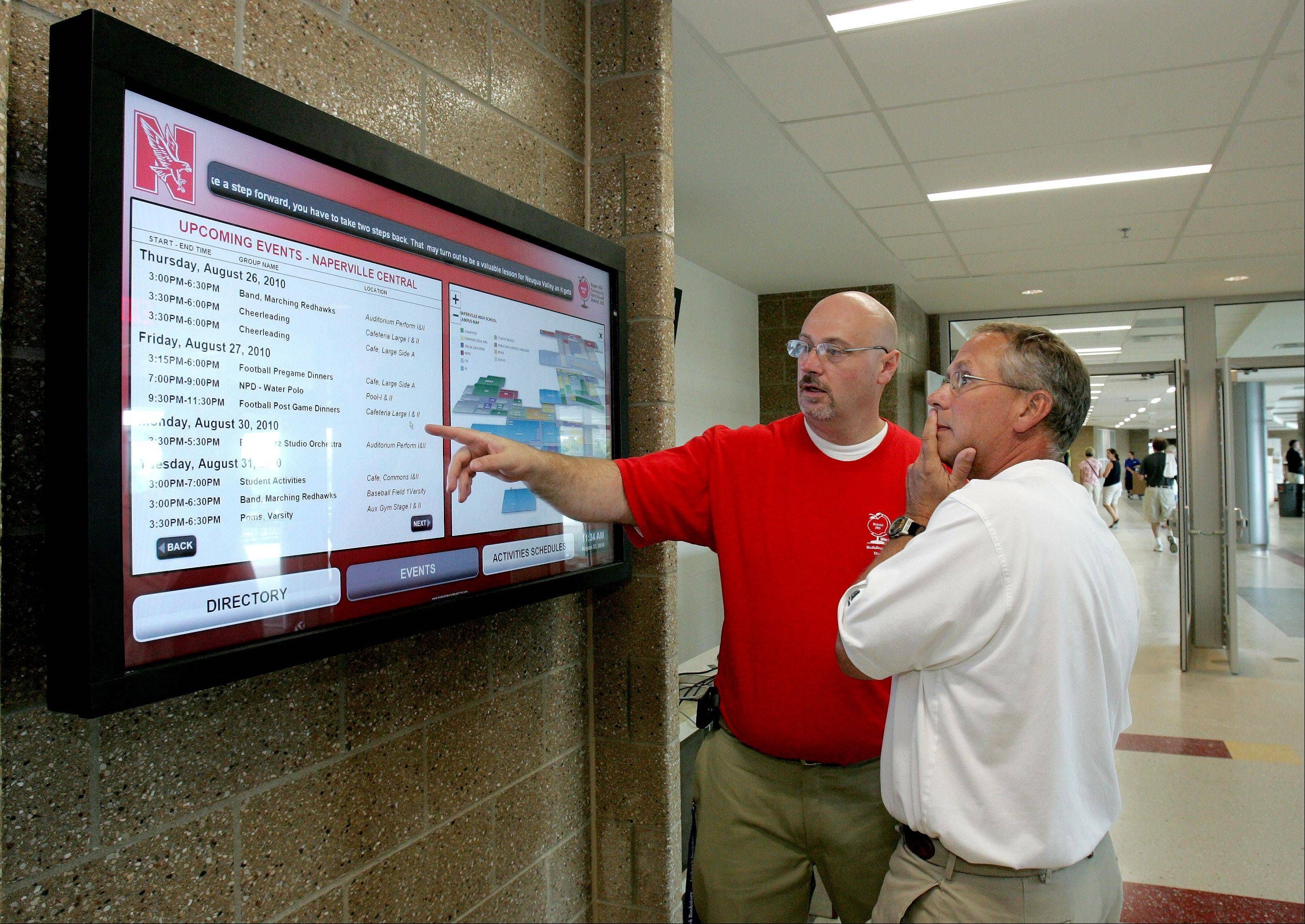 New-look Naperville Central opens doors to community