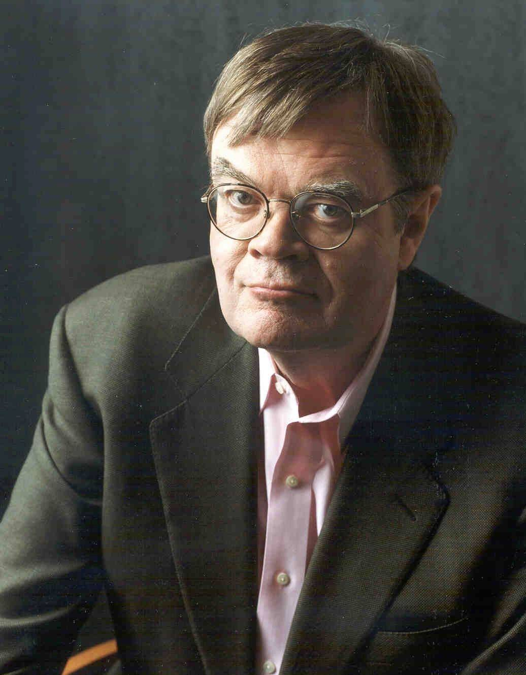 Author, radio personality and actor Garrison Keillor takes to the stage at College of DuPage's McAninch Arts Center in Glen Ellyn on Sunday, Oct. 23.