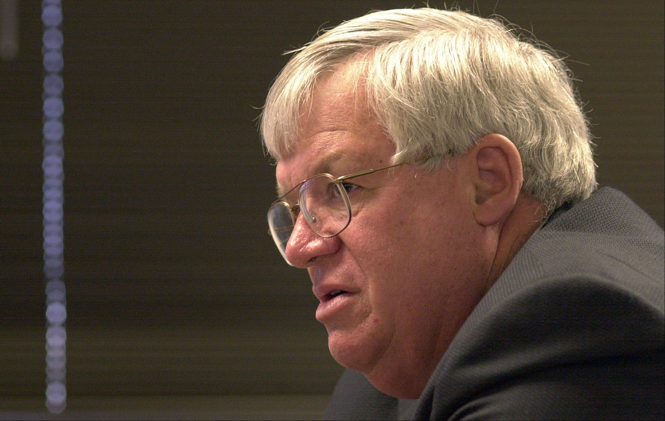 Former speaker of the House Dennis Hastert will be in Wheaton Thursday for a panel discussion on the fiscal imbalance facing the U.S. government.