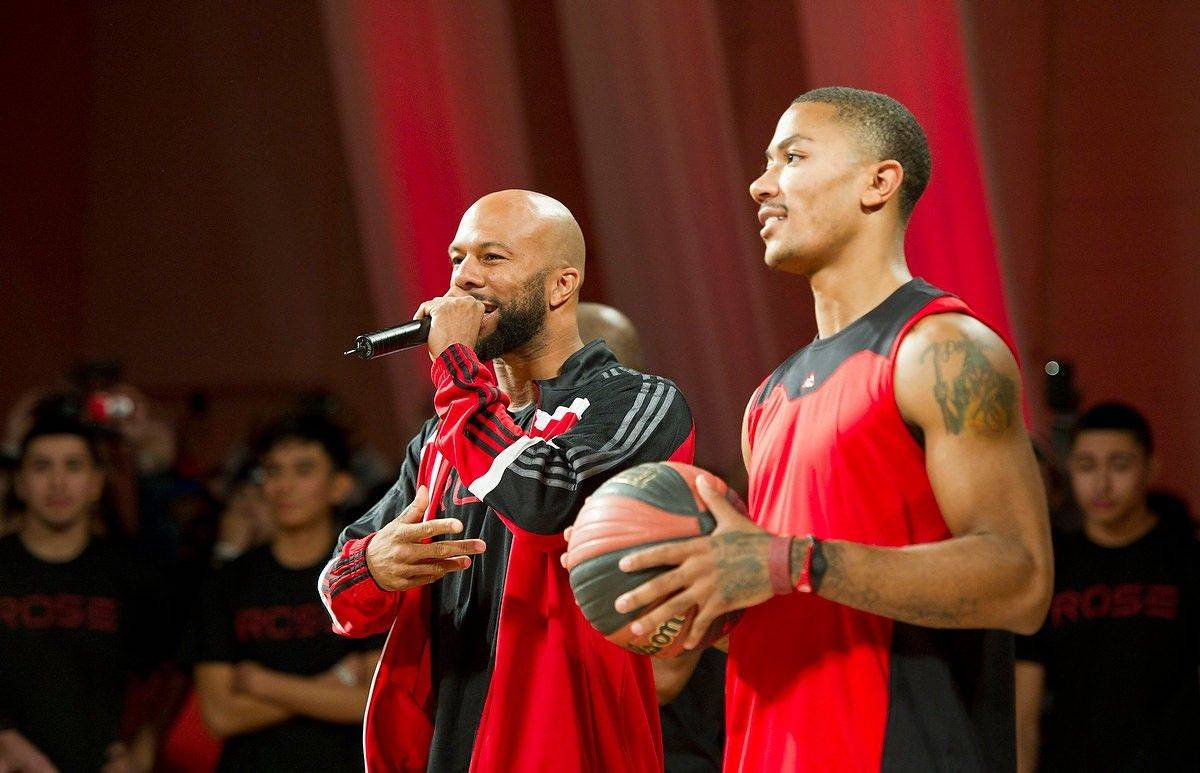 Derrick Rose met fans Saturday in Chicago to celebrate the launch of his new adidas shoe, the adiZero Rose 2.