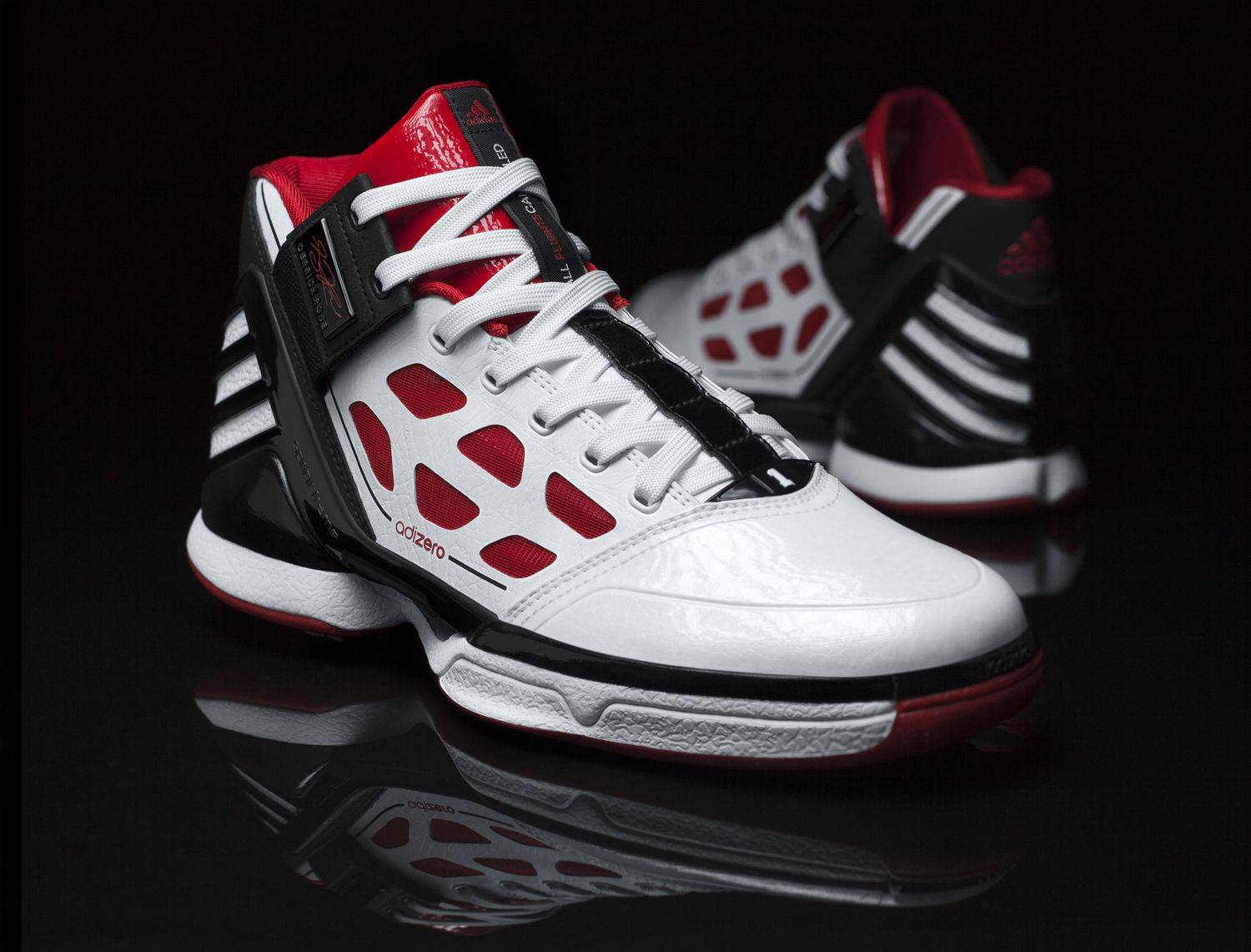 The new Derrick Rose Adidas shoe.