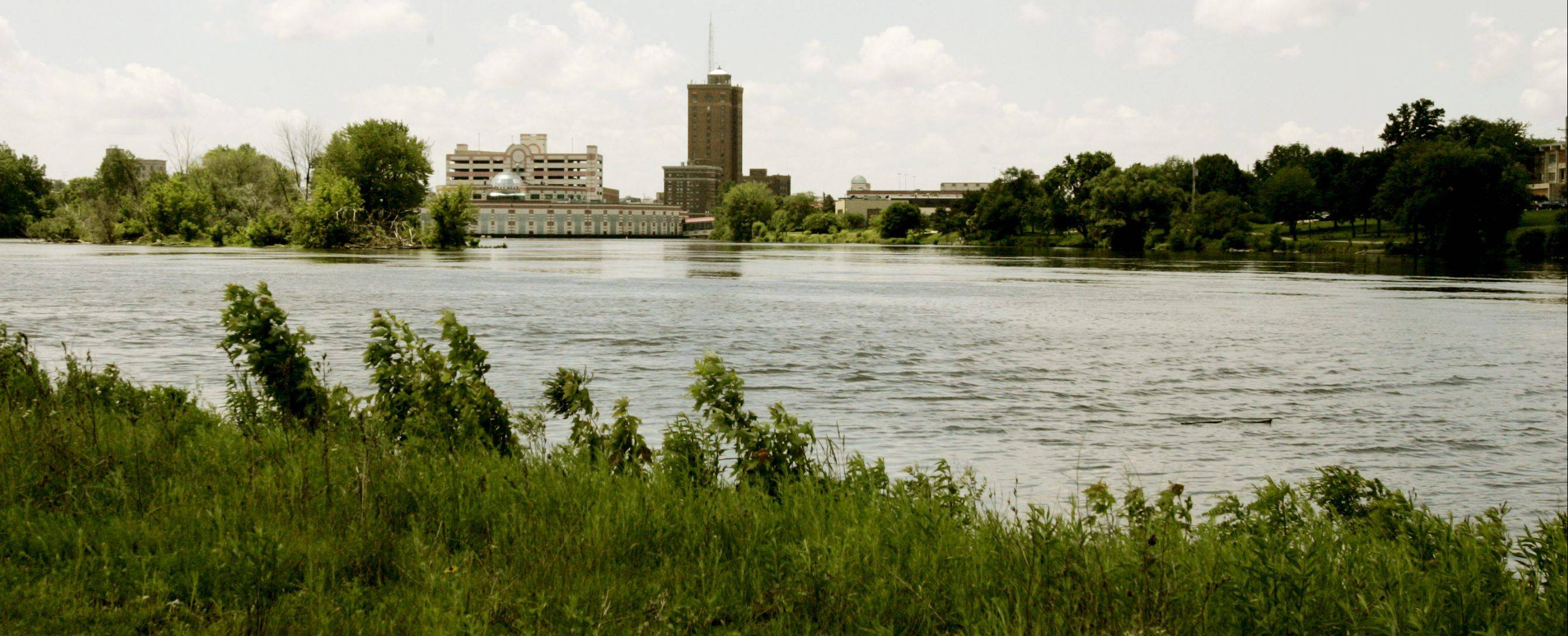By February 2013, this land along the Fox River on North Broadway Avenue in Aurora will be part of RiverEdge Park.