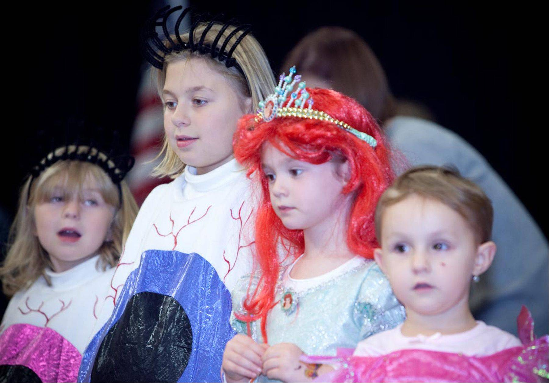 Children will be part of a costume parade and get to show off their outfits onstage during Halloween Family Fun Night Oct. 28 at the Prisco Community Center in Aurora.