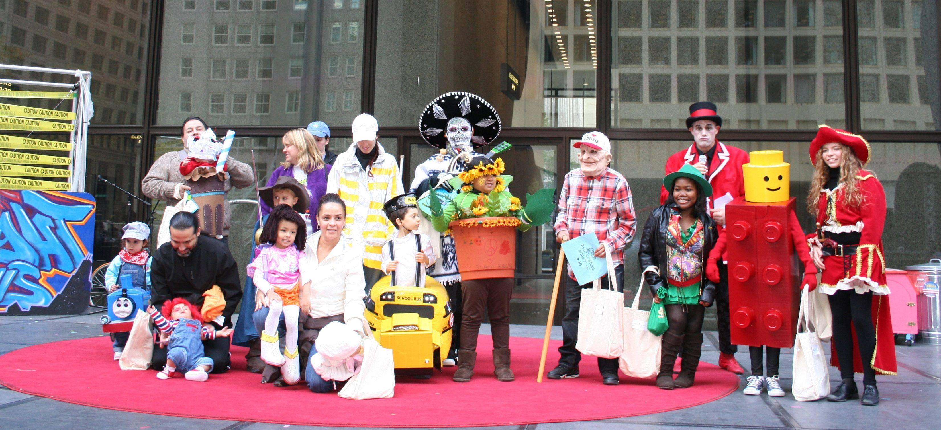 Daley Plaza in downtown Chicago is the site for lots of free family fun during Chicagoween, Oct. 28-30.