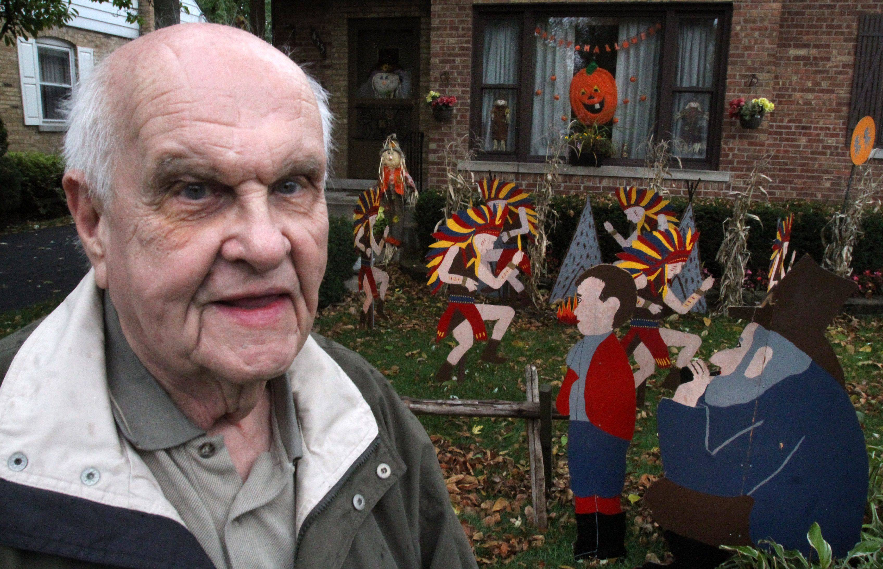 At 85, Kitzing has created a legend of his own, on his Mount Prospect block.
