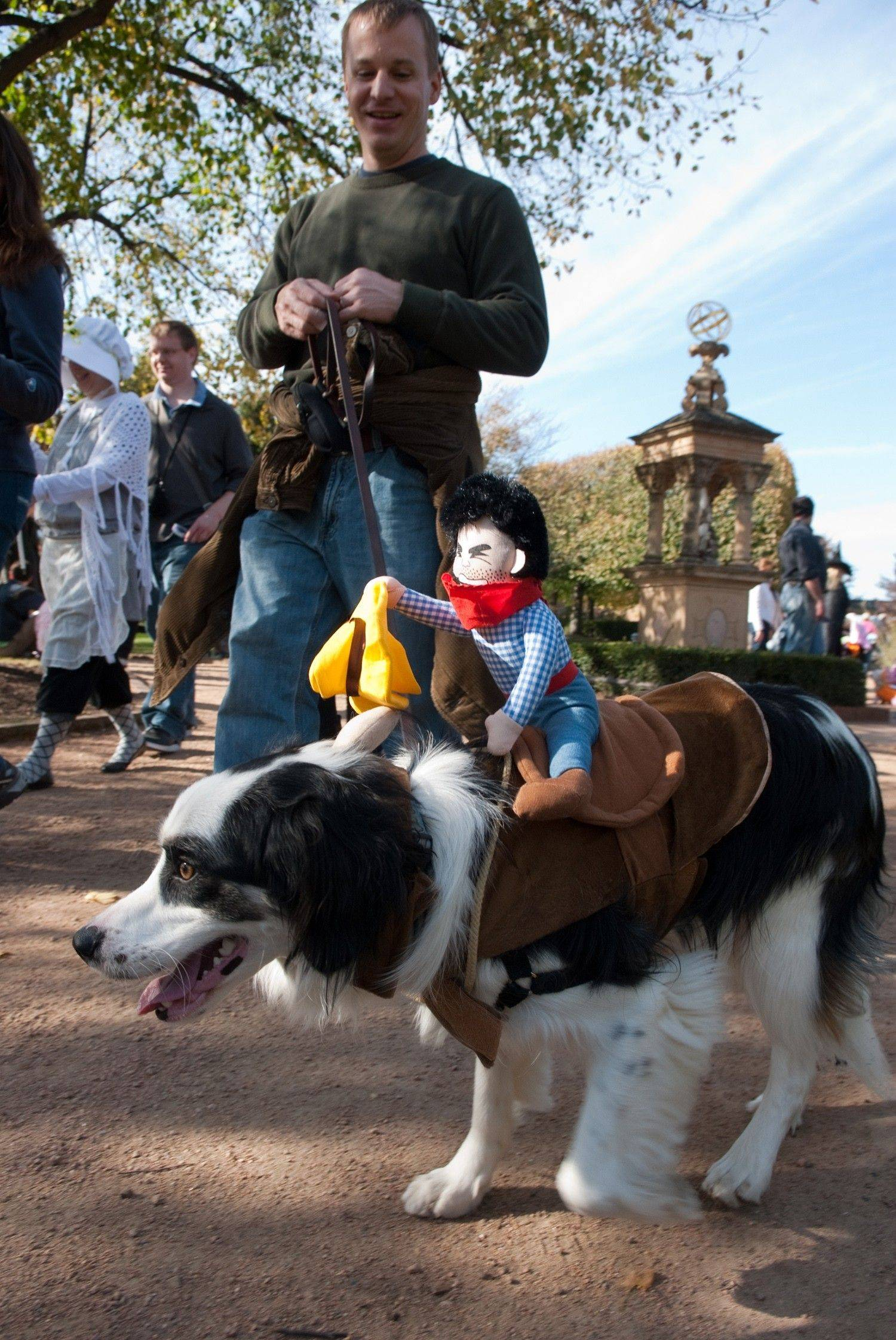 Dress up your dog and head to the Chicago Botanic Garden for the annual Spooky Pooch Parade.