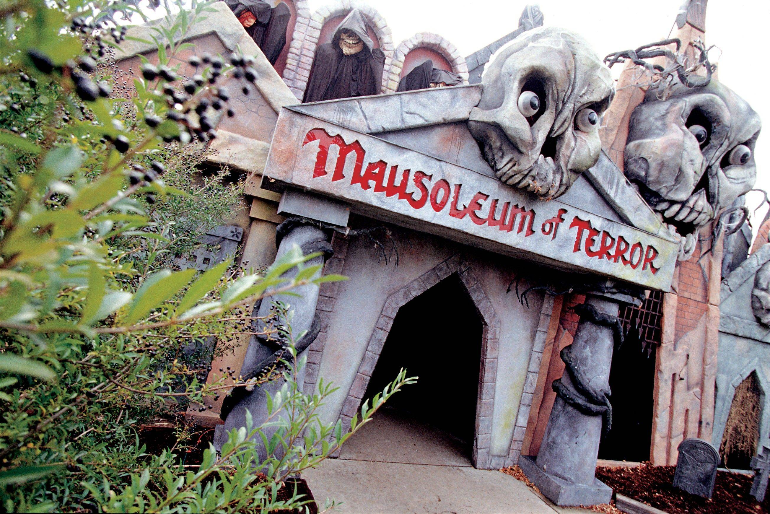 The Mausoleum of Terror is one of the attractions at Great America's Fright Fest in Gurnee.