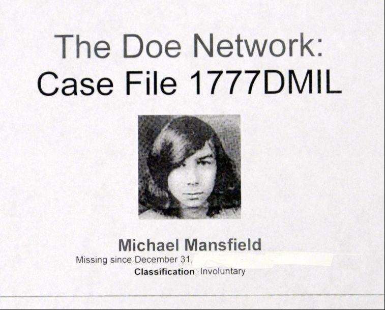 Michael Mansfield of Rolling Meadows went missing from his home in 1975. On Friday, police announced that Russell Smrekar, Mansfield's one-time college roommate, confessed to his killing.