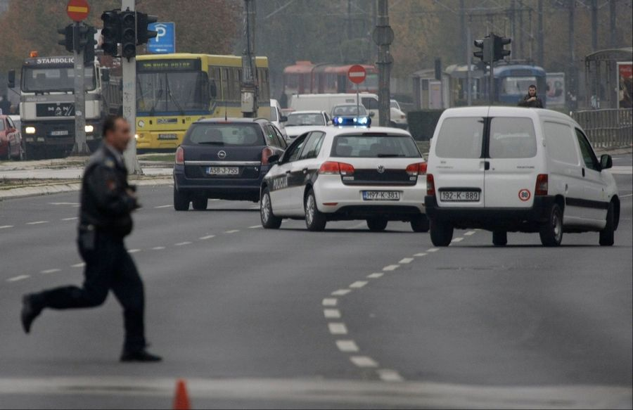 Terrorist attack outside US Embassy in Bosnia