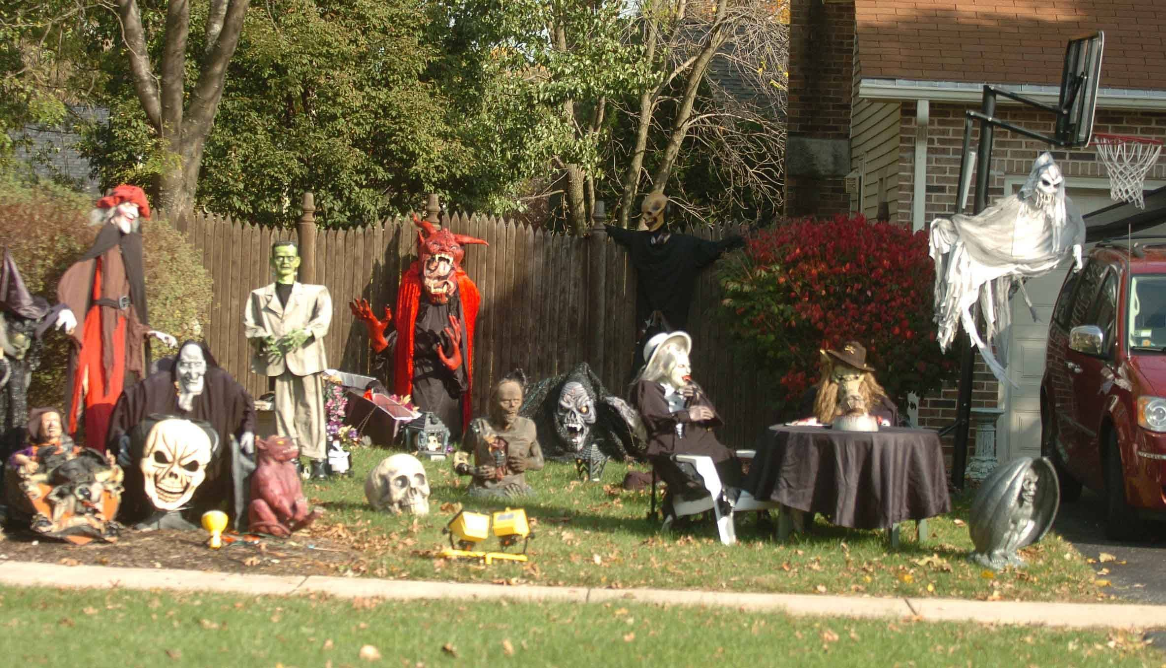 The home at 12 N. River Road in Naperville has plenty of creepy allure.