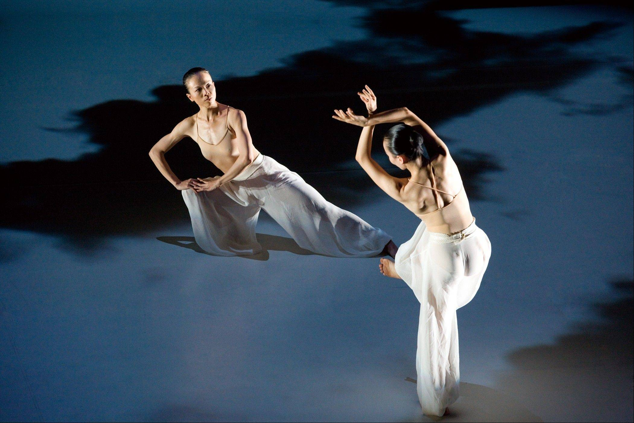 "Cloud Gate Dance Theatre of Taiwan performs Lin Hwai-min's ""Water Stains on the Wall"" at Millennium Park's Harris Theater for Music and Dance in Chicago this weekend."
