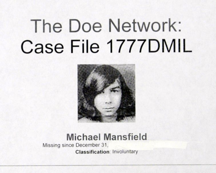 Michael Mansfield of Rolling Meadows went missing from his home on New Year's Eve 1975. His body has never been found, but an ex-college roommate confessed this week on his prison deathbed to Mansfield's murder.
