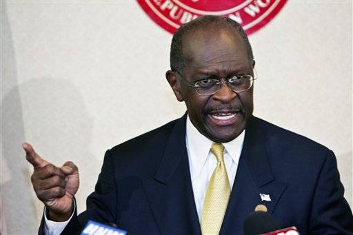 Cain denies report of sexual harassment