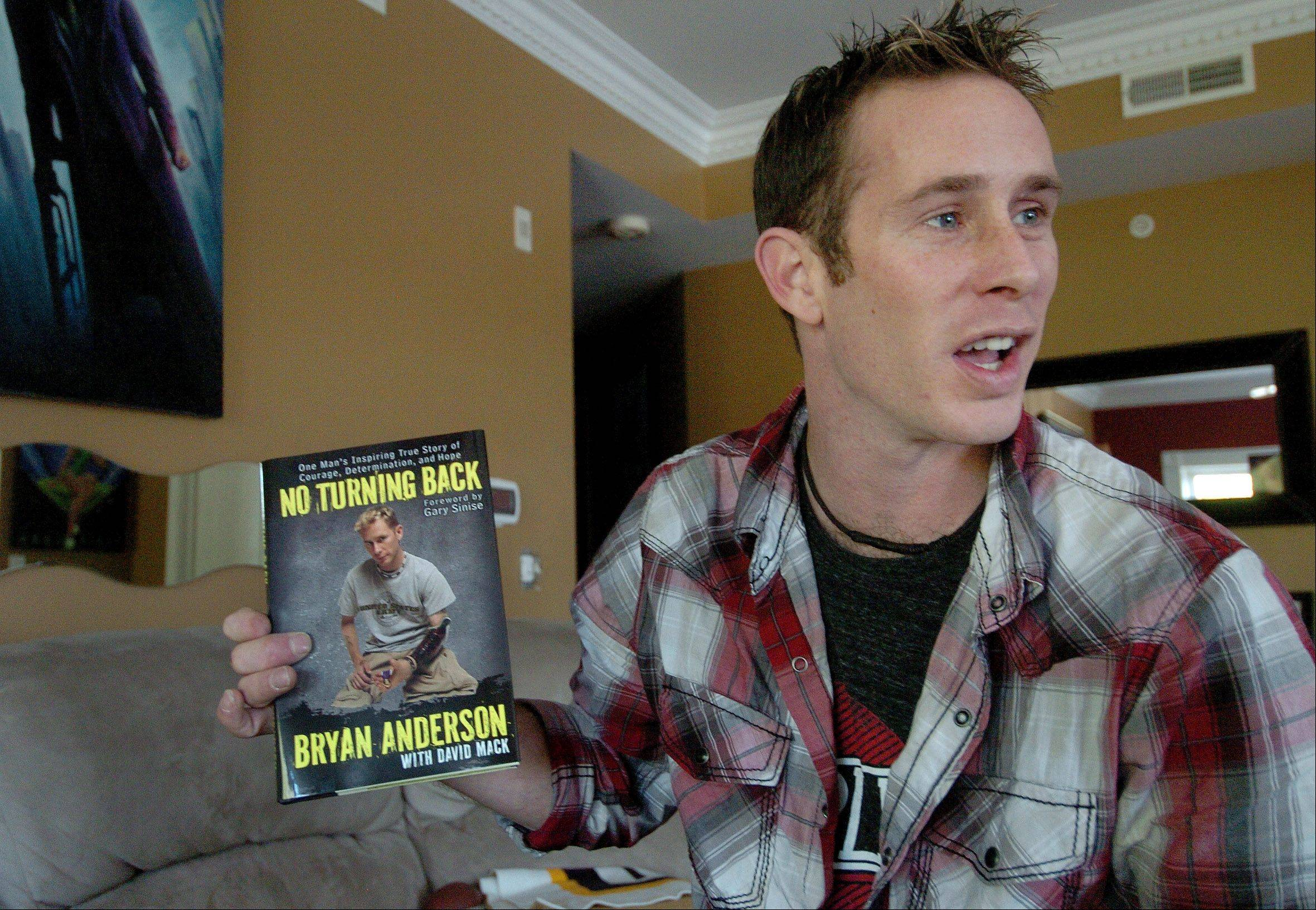 Bryan Anderson will sign copies of his book at 6:30 p.m. Friday at the Book Stall in Winnetka.