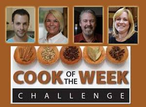 Four finalists will compete tonight in the Daily Herald's Cook of the Year contest.