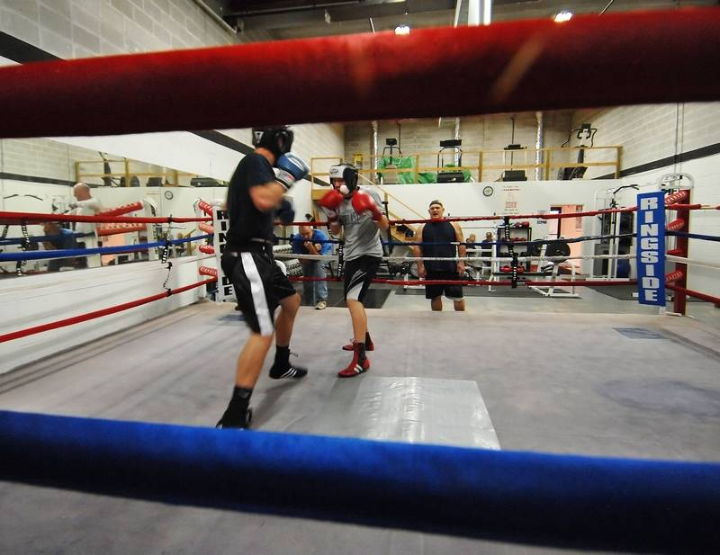 Some kids find success, work ethic with boxing
