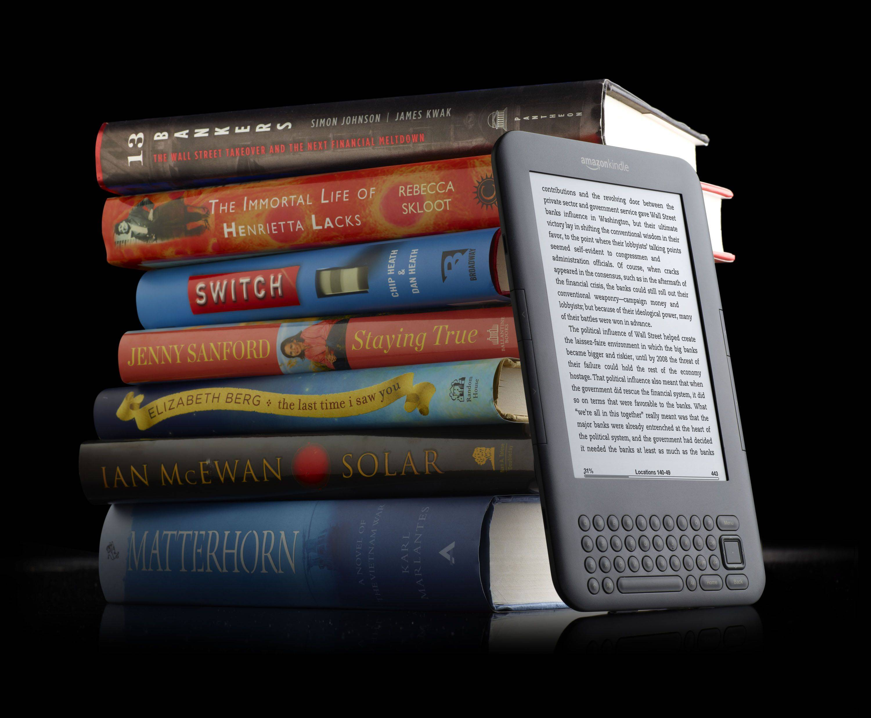 Amazon introduces lending library for Kindles