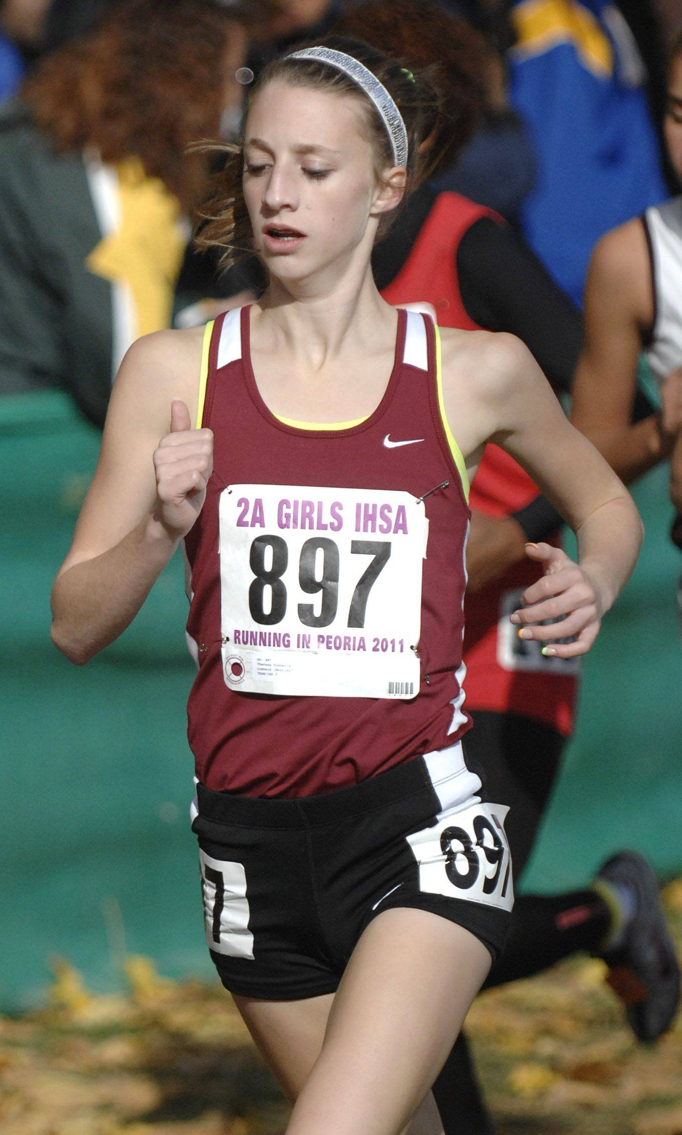 Montini's Theresa Connelly took 38th place with a time of 18:22 in the 2A state cross country final.