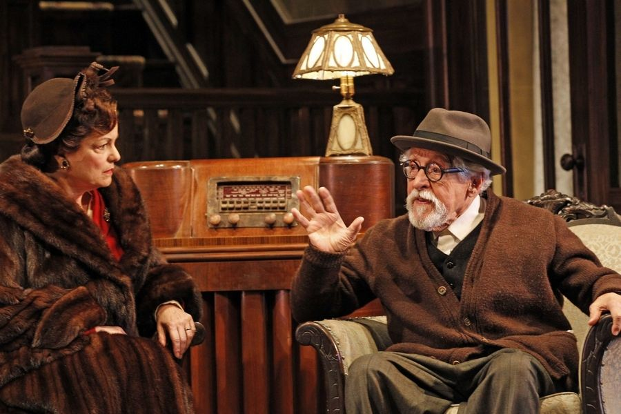 "Drury Lane Theatre in Oakbrook Terrace picked up a best supporting actor Jeff award for Mike Nussbaum's turn as an endearingly irascible Socialist in Neil Simon's ""Broadway Bound,"" also starring Paula Scrofano."