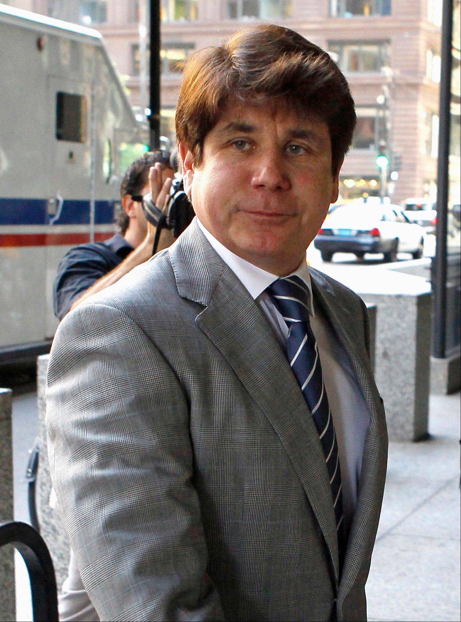 Former Illinois Gov. Rod Blagojevich will be sentenced in federal court on Dec. 6.