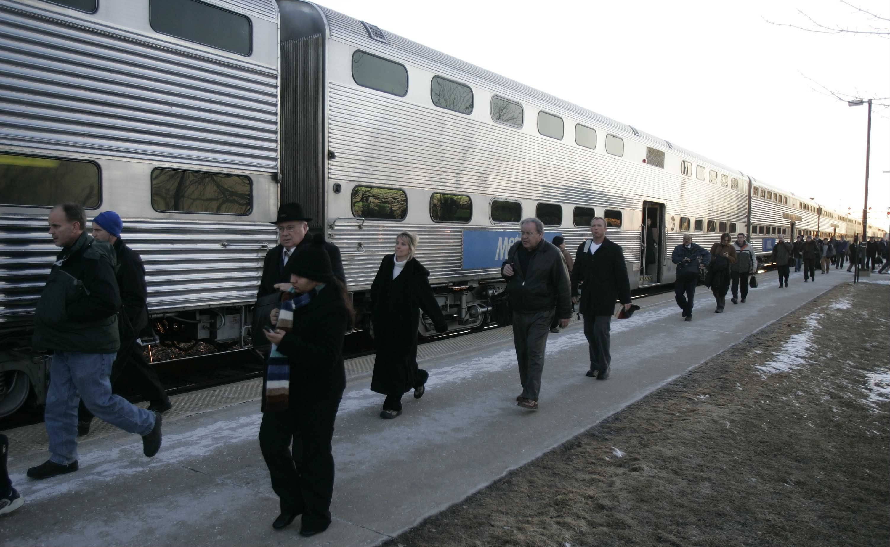 Metra commuters will likely pay more to ride the rails in 2012.