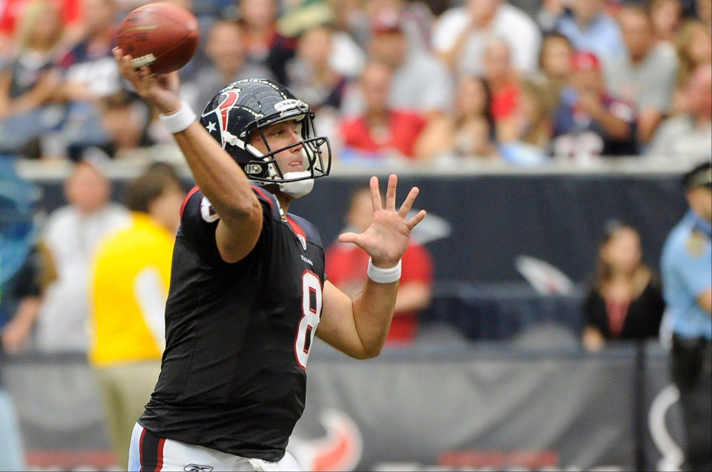 Down the road in Week 16, Houston Texans quarterback Matt Schaub could have a big game against Indianapolis and he is worth grabbing now if your QB is off that week.