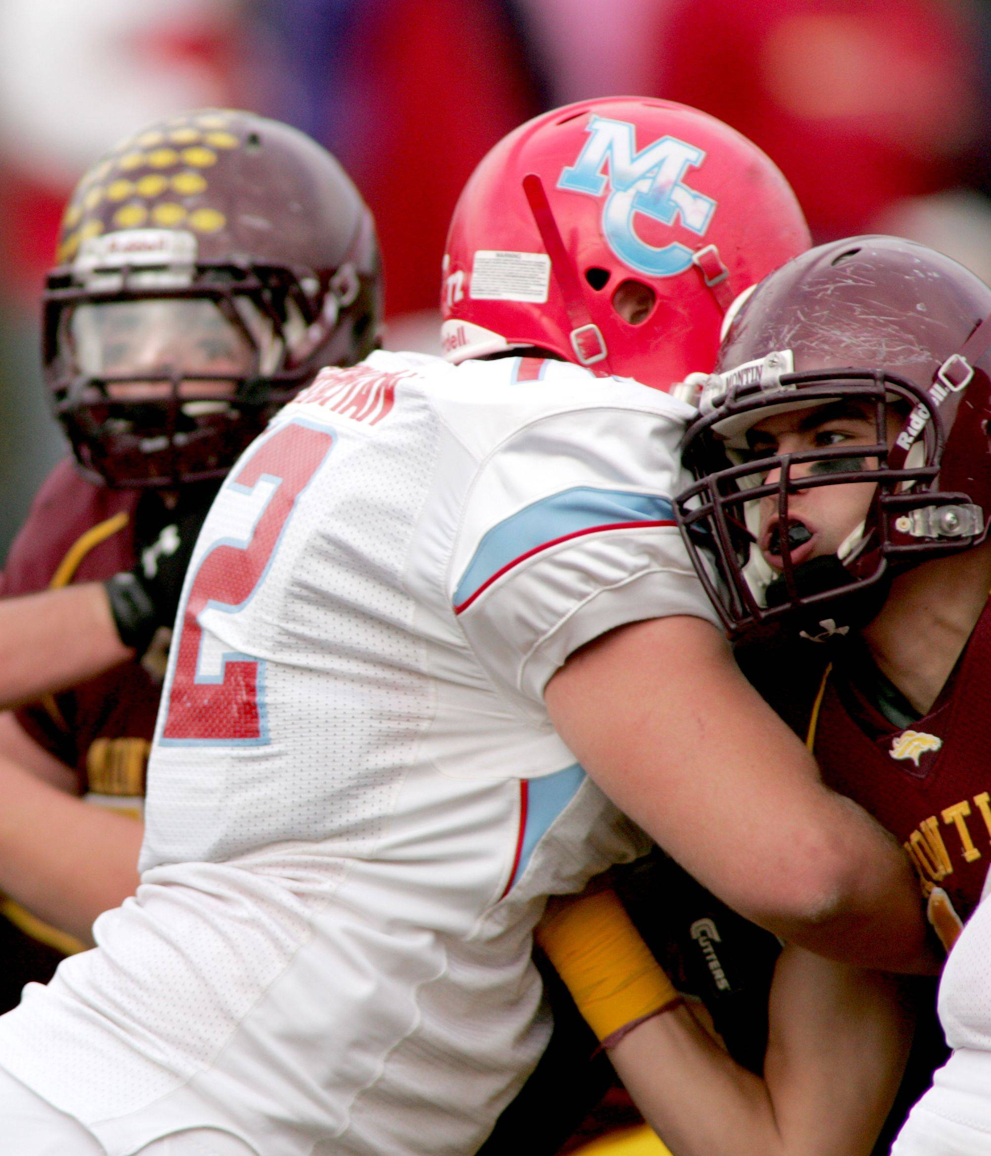 Images: Marian Central vs. Montini in quarterfinal playoff football