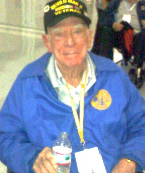 Harold Weir was one of 98 veterans who took part in the Nov. 4 Honor Flight from Chicago to Washington, D.C.