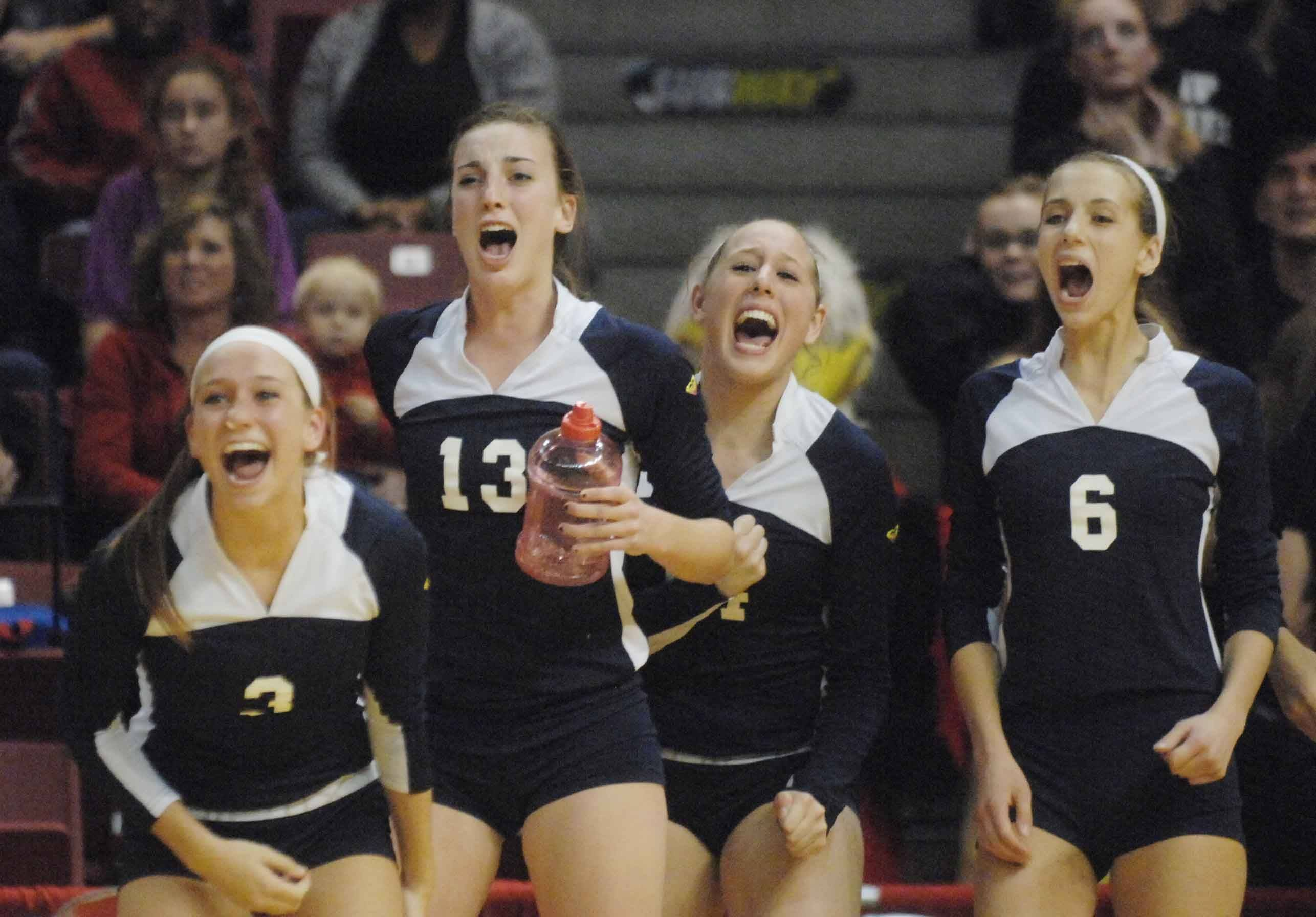 The Cary-Grove girls volleyball team had plenty of excitement at Redbird Arena this weekend, despite coming up short in the Class 4A championship match for the second straight year.