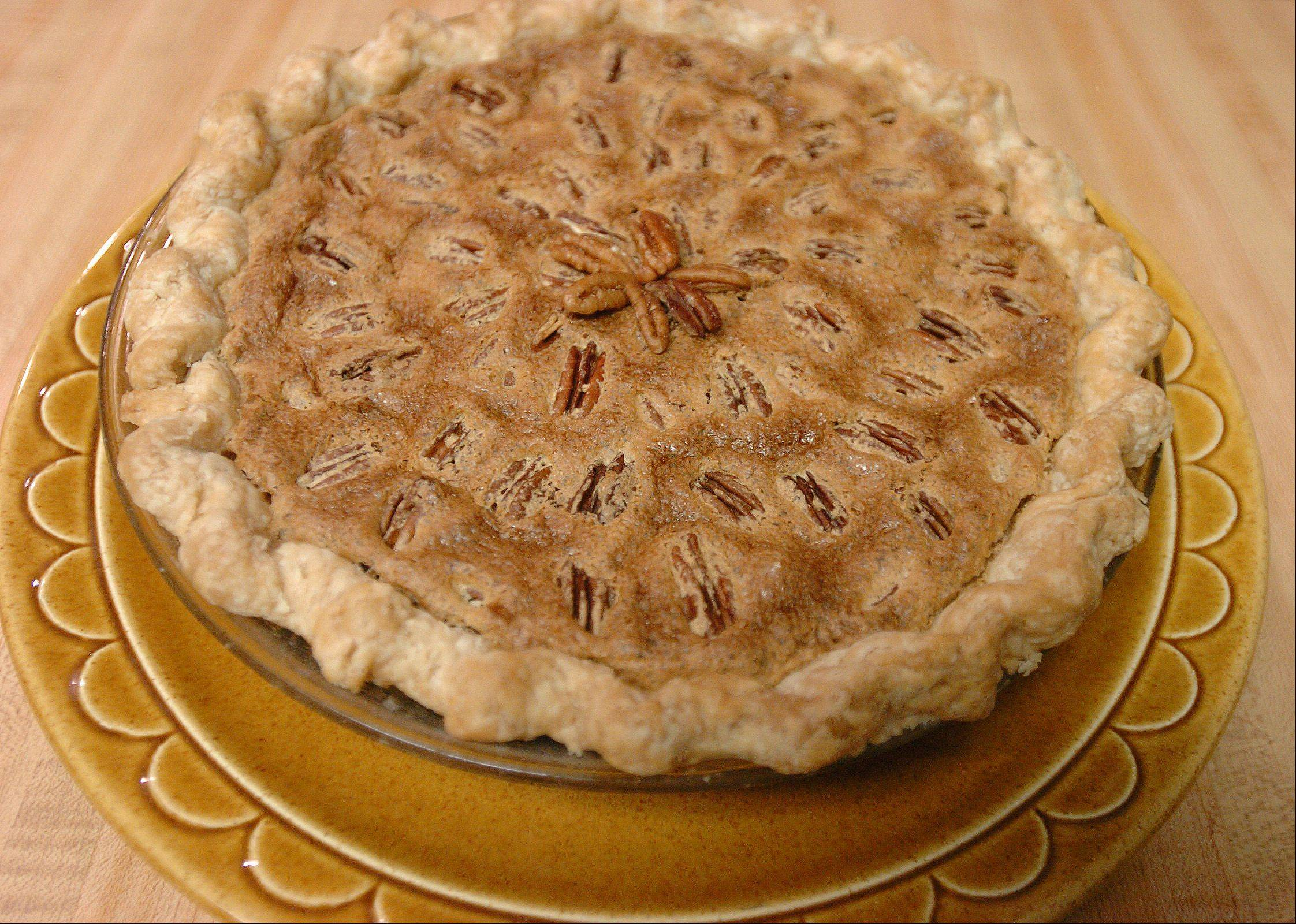 A pecan pie without corn syrup? Oh, my!