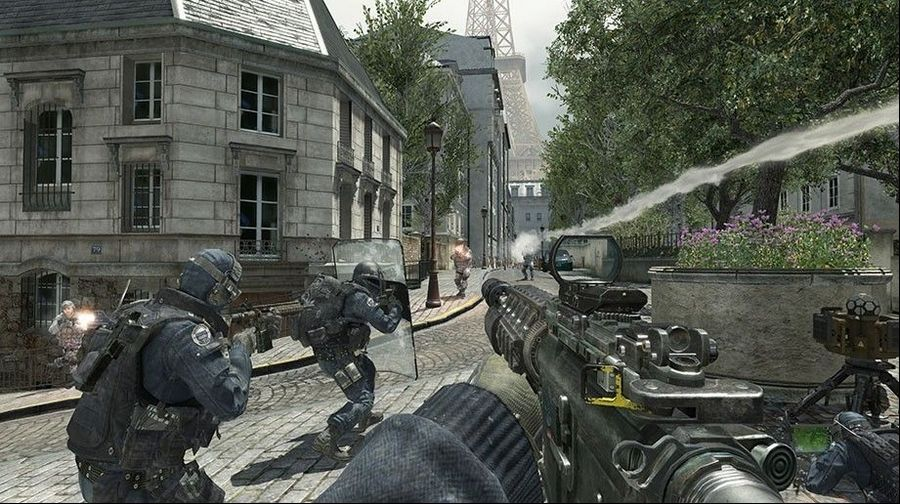 Modern Warfare 3' is loud, flashy and dumb
